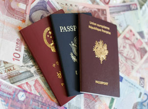 Multi Passport On Money