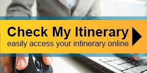 Check My Itinerary Banner